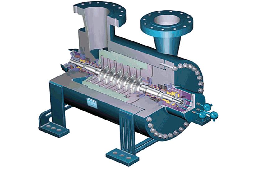 Центробежный компрессор принцип работы