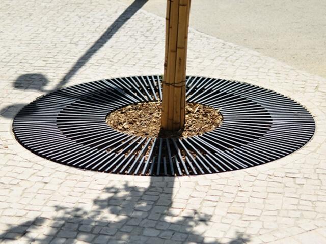 Приствольная решетка для дерева круглая