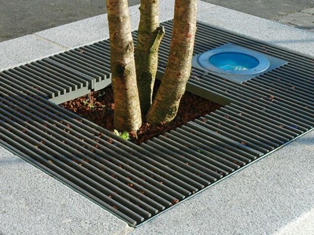 Решетка для дерева квадратная