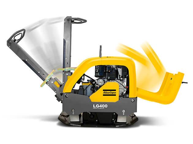 Виброплита Atlas Copco LG400 бензин