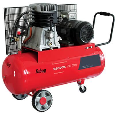 Поршневой компрессор одноступенчатый ременной FUBAG B6800B/100 СТ5