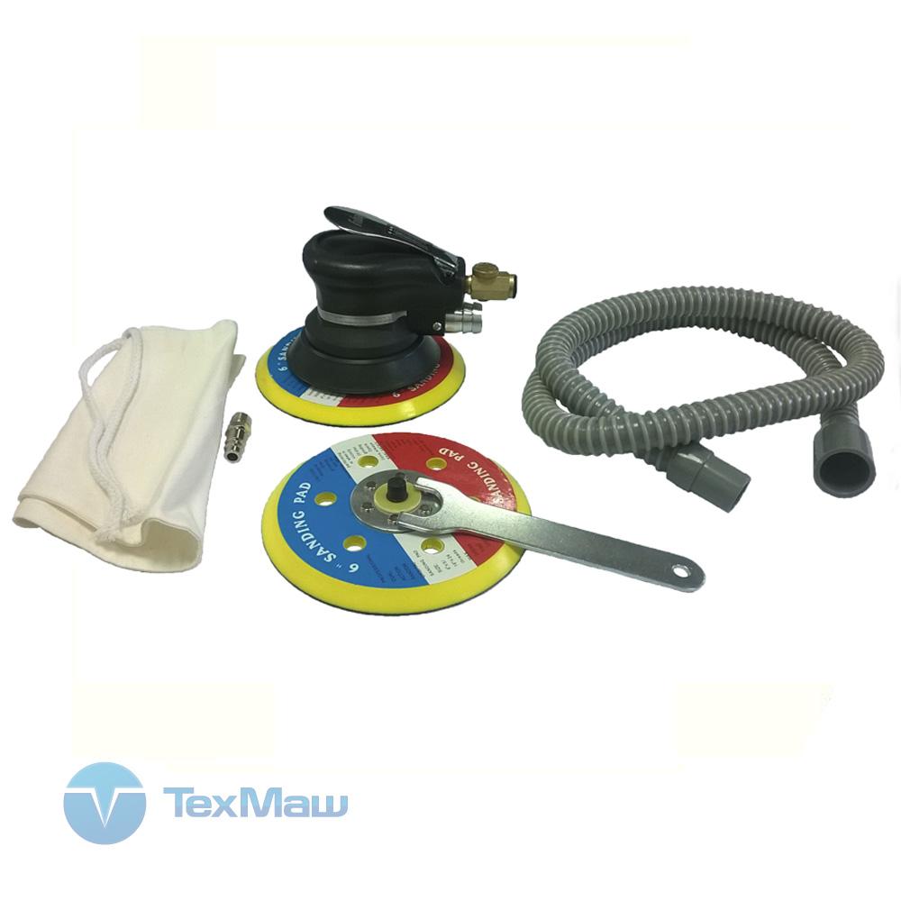 Пневмошлифмашинка Fubag SR150CV (комплектация)
