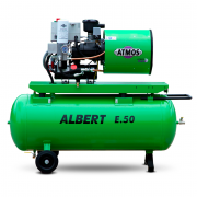 Компрессор винтовой ATMOS ALBERT E80 Vario-R - 8 бар