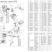 Уплотнительное кольцо на цилиндр (№13) для FROSP CN-70