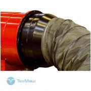 Адаптер подключения рукава Ø400 мм на входе для теплогенераторов Ballu-Biemmedue EC 85