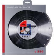 Алмазный отрезной диск Fubag Universal Pro D350 мм/ 30-25.4 мм [12350-6]