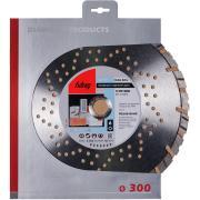 Алмазный отрезной диск Fubag Beton Extra D300 мм/ 25.4 мм [37300-4]