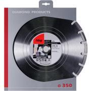 Алмазный отрезной диск Fubag AP-I D350 мм/ 25.4 мм [58341-4]
