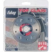 Алмазный отрезной диск Fubag Top Glass D115 мм/ 22.2 мм [81115-3]