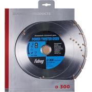Алмазный отрезной диск Fubag Power Twister Eisen D300 мм/ 30-25.4 мм [82300-6]