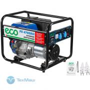 Электростанция (генератор бензиновый) ECO PE-6700RSi
