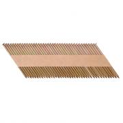 Гвозди реечные 34 градуса 2,8x75 мм с кольцевой накаткой, оцинкованные / 2000шт