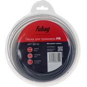 Триммерная леска Fubag FR сечение круглое (60 м x 2,4 мм)