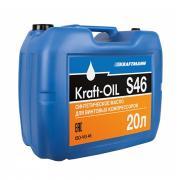 Масло компрессорное KRAFT-OIL S46/20л - фото, изображение