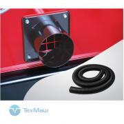 Соединение воздухозаборного шланга переходное (диаметр 100 мм) для теплогенераторов Ballu-Biemmedue