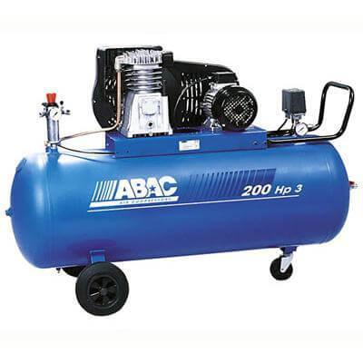 Поршневой компрессор маcляный ABAC B5900B/200 CT5,5 с ременным приводом