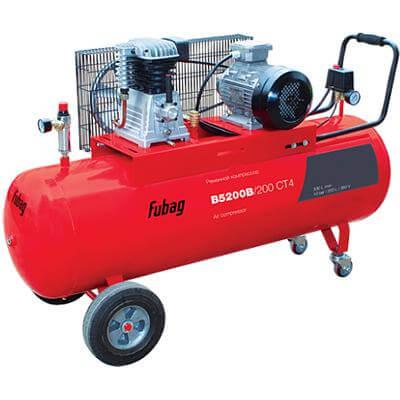 Поршневой компрессор одноступенчатый ременной FUBAG B5200B/200 СТ4