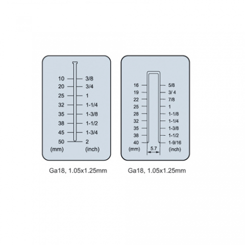 Тип и размер крепежа для F5040