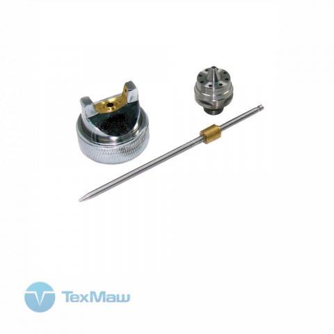 Сопло 1.1 мм для краскораспылителя MAESTRO G600 (игла_головка_сопло)