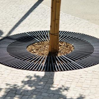 Решетка для дерева круглая