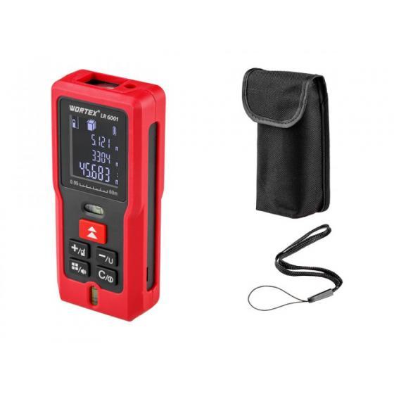 Дальномер лазерный WORTEX LR 6001 в кор. (0.05 - 60 м, +/- 2 мм/м,) (LR6001002723)