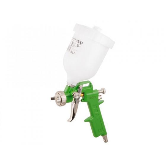 Краскораспылитель ECO SG-1000 (HVLP, сопло ф 2.5 мм, верх. бак 600 мл) (SG-1000H25U)