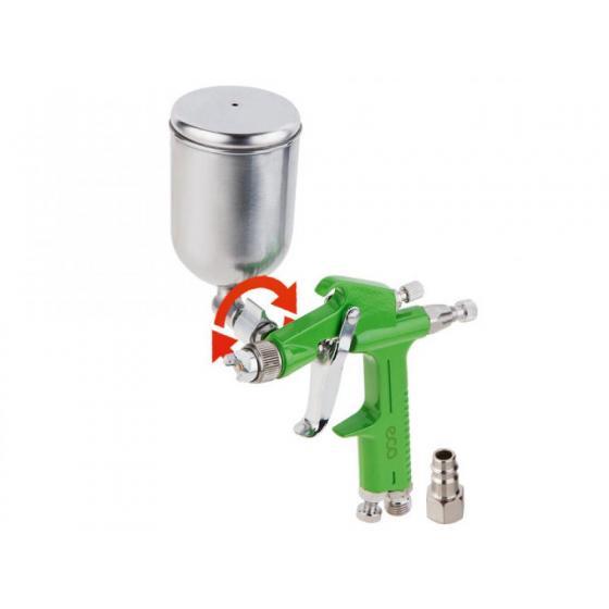Краскораспылитель ECO SG-1500 (HVLP, сопло ф 1.0 мм, поворотн. бак 200 мл) (SG-1500H10F)
