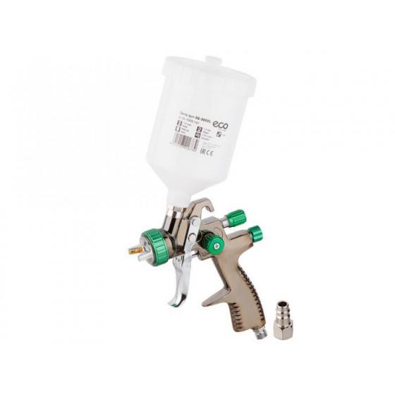 Краскораспылитель ECO SG-3000L (LVLP, сопло ф 1.4 мм, верх. бак 600 мл) (SG-3000L14U)