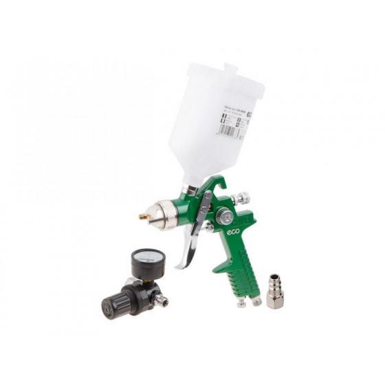 Краскораспылитель ECO SG-9000 с манометром (HVLP, сопло ф 1.4 мм, верх. бак 600 мл) (SG-9000H14MU)