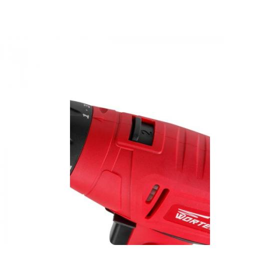 Дрель-шуруповерт WORTEX DR 1323 в кор. (350 Вт, патрон БЗП, 30 Нм, шурупы до 6 мм) (DR132300013)