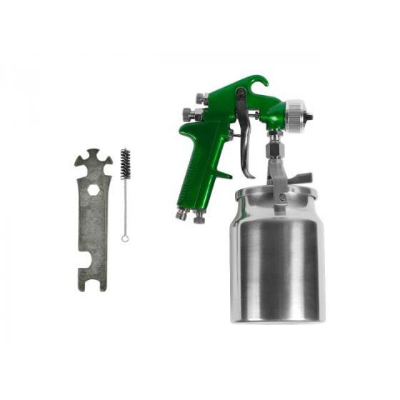 Краскораспылитель ECO SG-33L17 (LVMP, сопло ф 1.7мм, нижн. бак 1000мл)