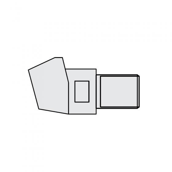 Держатель электрода наклонный O 32 х 78мм Fubag [31158]