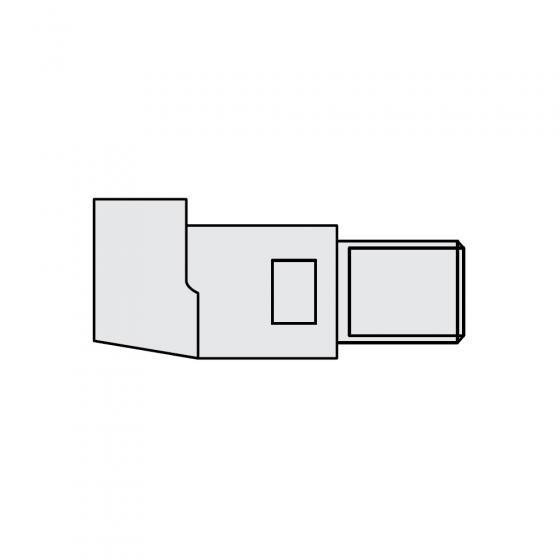 Держатель электрода прямой O 45 х 98мм Fubag [31160]