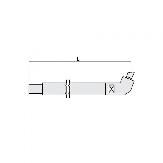 Нижнее плечо наклонное O 22 х 125мм для серии SG 4-6 Fubag [38934]