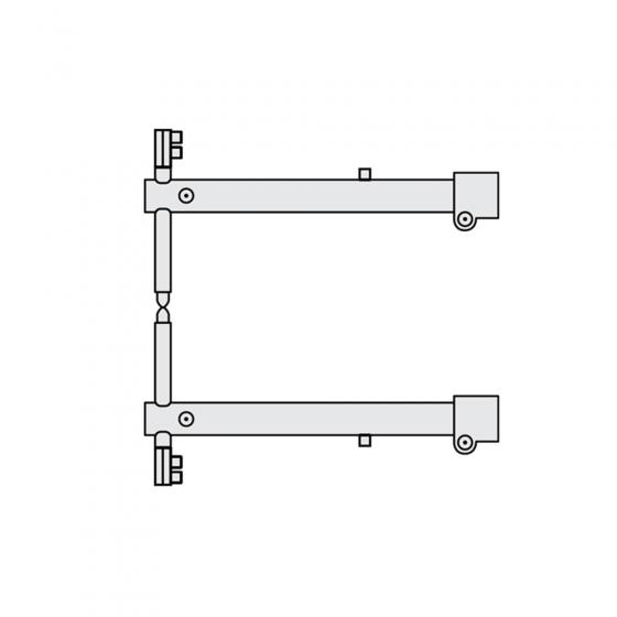 Комплект плечей O 45 х 400мм для серии RSV Fubag [38951]