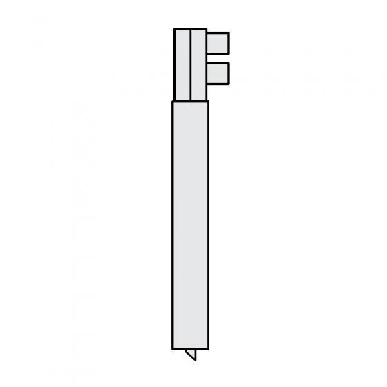 Держатель электрода O 25 х 300мм для RS 35i, серии RSV Fubag [38973]