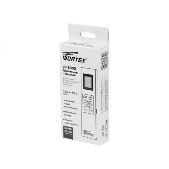 Дальномер лазерный WORTEX LR 8002 в кор. (0.05 - 80 м,  двухсторонний лазерный луч) (LR800202723)