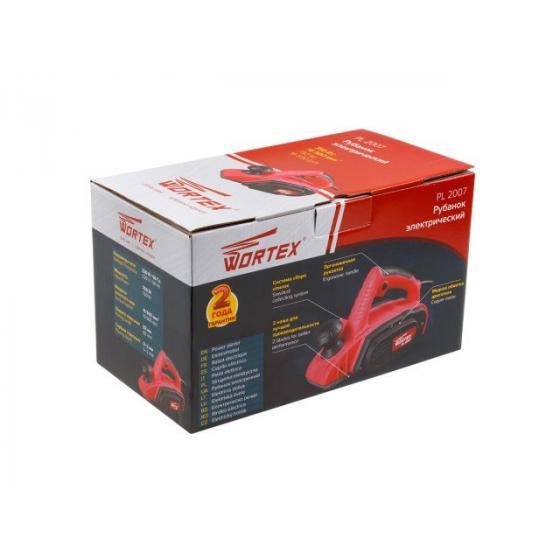 Рубанок электрический WORTEX PL 2007 в кор. (750 Вт, шир. до 82 мм, глуб. до 2.0 мм) (PL200700022)