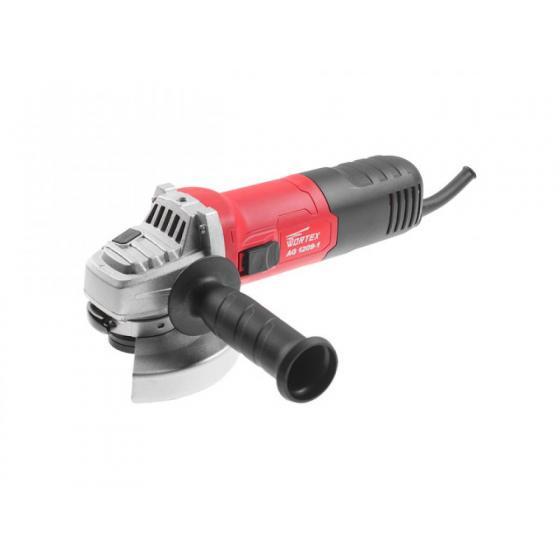 Одноручная углошлифмашина WORTEX AG 1209-1 в кор. (900 Вт, диск 125х22 мм) (AG120910003)