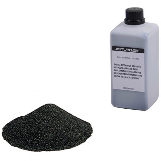 Абразивная смесь для пескоструйных пистолетов Asturomec (700 г)