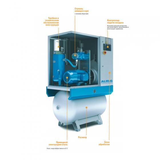 Винтовой компрессор ALMiG COMBI-18/500 - 13