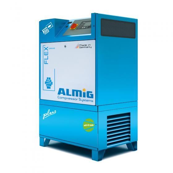 Винтовой компрессор ALMiG FLEX-15-O - 13 бар с осушителем и фильтрами