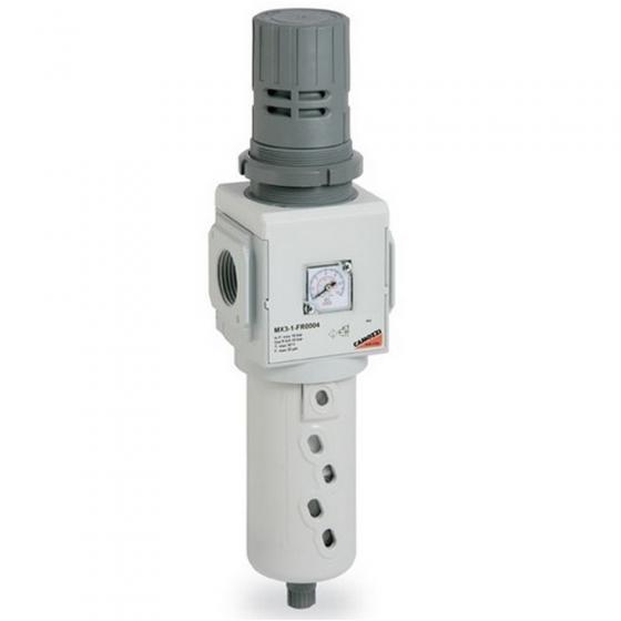 Фильтр-регулятор с манометром Camozzi MX2-1/2-FR1004