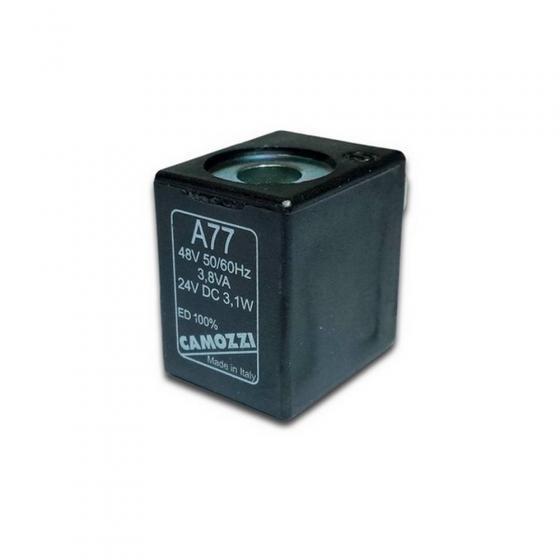 Электромагнитная катушка (соленоид) Camozzi A77 DC 24V