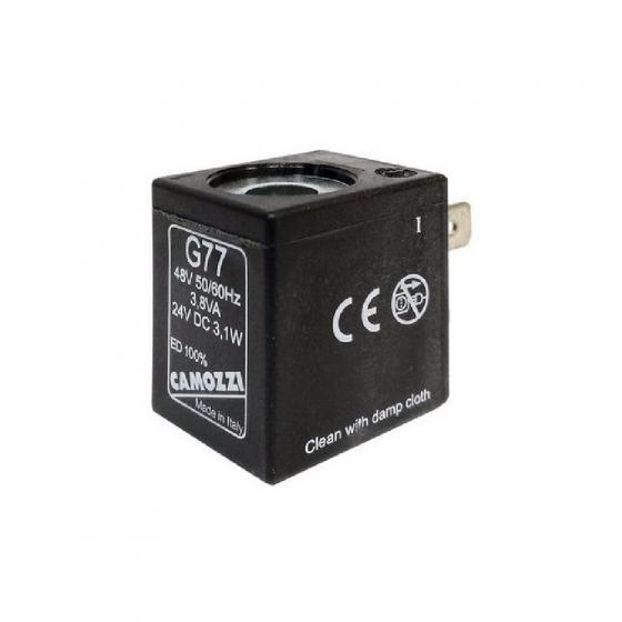 Электромагнитная катушка (соленоид) Camozzi G77 DC 24V