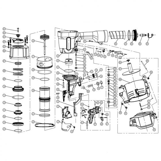 Compressed spring (№30) для FROSP CN-90