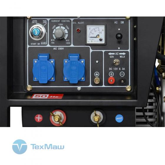 Дизельная электростанция с функцией сварки TSS DW-200