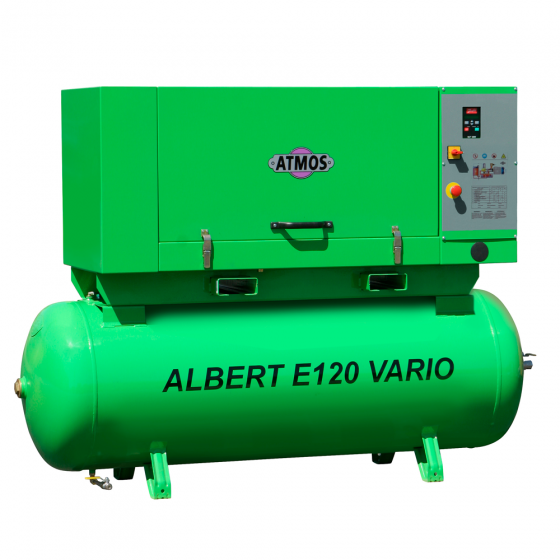 Компрессор винтовой ATMOS ALBERT E120 Vario-KR - 8 бар