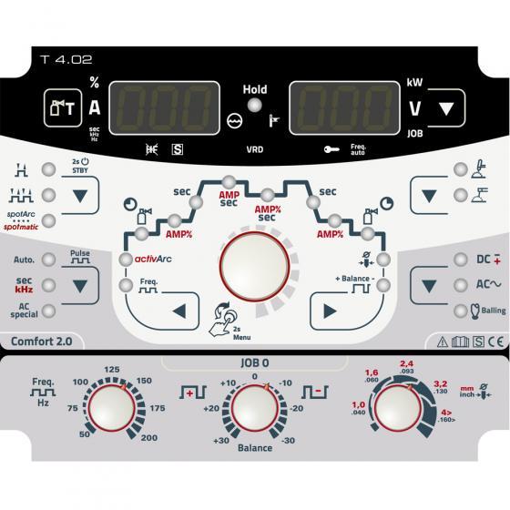 Сварочный инвертор EWM Tetrix 300 AC/DC Comfort 2.0 puls 8P TM