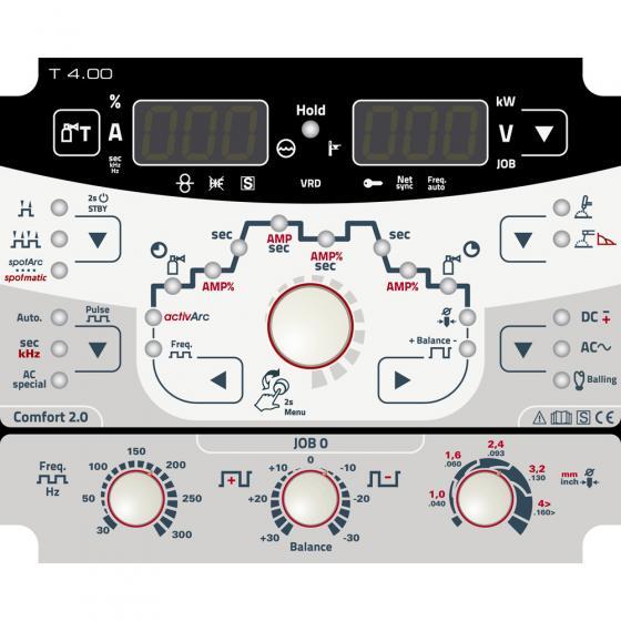 Сварочный инвертор EWM Tetrix 351 AC/DC Comfort FW